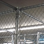 Chain link fence detail by Lovewell Fencing