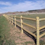 Ranch fencing by Lovewell Fencing