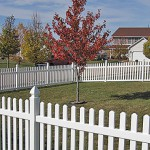 Residential PVC Vinyl fence by Lovewell Fencing
